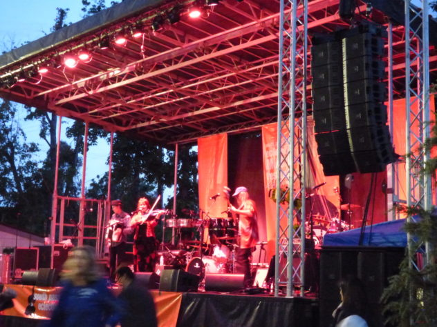 Main Stage, Eclectic Music Festival, Copyright 210eastsound