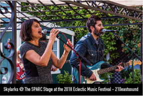Skylarks at the Eclectic Music Festival 2018 - 210eastsound