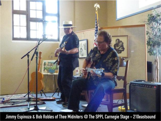 Jimmy Espinoza & Bob Robles @ The SPPL Carnegie Stage