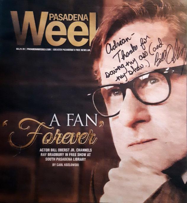 Bill Oberst Jr. - Pasadena Weekly